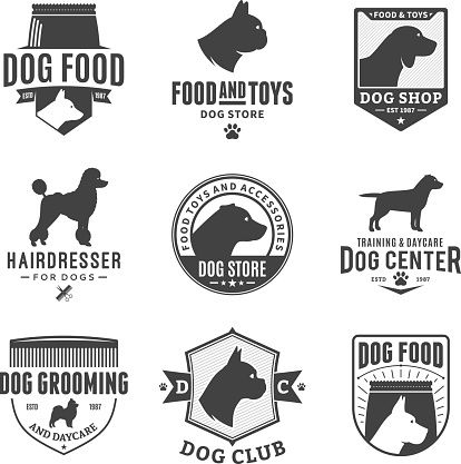 Hound Dog Hairdressing | Brands of the World™ | Download vector ...