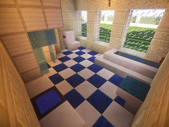 Bathroom Ideas Minecraft california mansion | minecraft house design - bathroom | chloë's