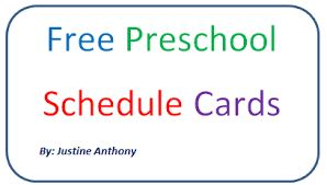 Image result for schedule pictures for preschool