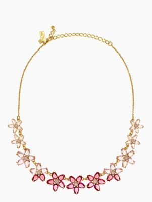 ombre bouquet small necklace