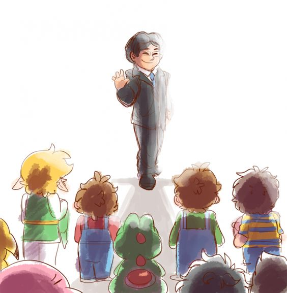 Thank you for everything, Mr. Iwata :)