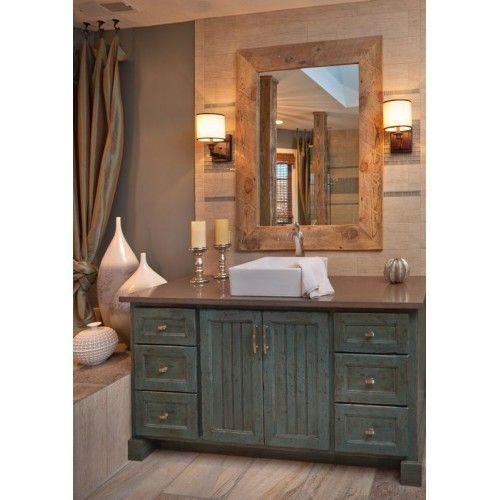 Old Wood Hilton Bathroom Cabinet Models Bd132 Badezimmer Holz Rustikale Bad Eitelkeiten Shabby Chic Badezimmer