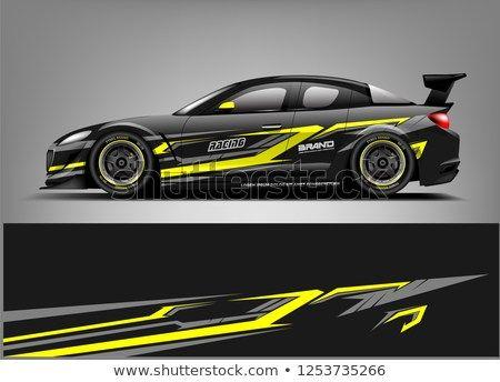 Car Wrap Design Stiker Mobil Modifikasi Mobil Mobil Balap