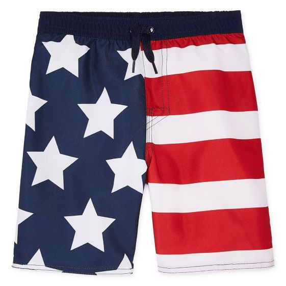 Fly Eagle In Old England Flag Mens Quick Dry Swim Trunks Beach Shorts Boardshorts