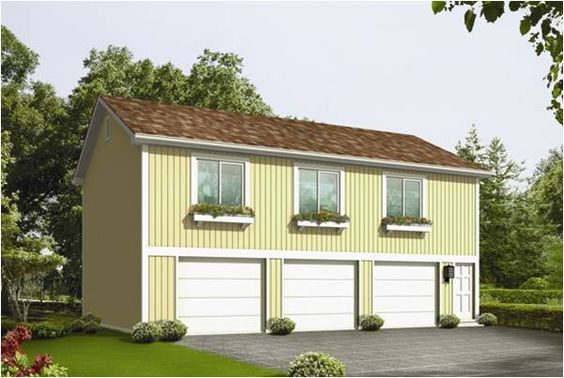 Garage Apartment Blueprints | ... on the image of the Denver 3 car garage plans to buy this plan now