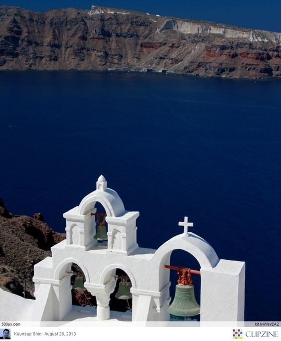 Cliffside Church, Santorini, Greece | Community Post: Here's The Most Stunning Pages Of Santorini...Greece