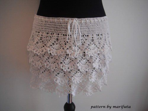 how to crochet ruffle skirt free pattern tutorial - Media - Crochet ...