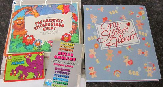 sticker albums