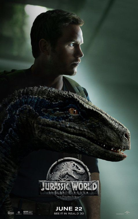 Jurassic World Fallen Kingdom Owen And Blue With Images