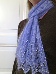 Ravelry: EarthenKnit's Frosty Air Scarf