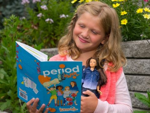 This Doll Is Teaching Young Girls All About Their Periods