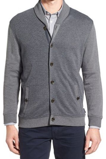 Ted Baker London shawl collar cardigan