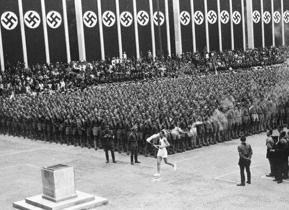 Image result for Hitler stadium