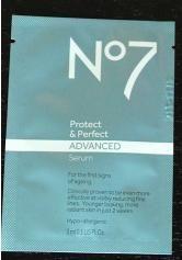 No 7 Protect & Prerfect Advanced Satchet