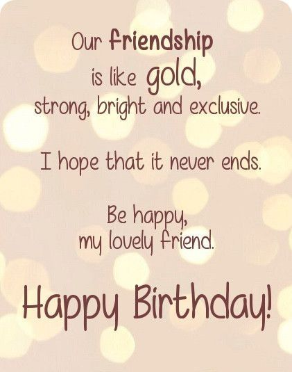 Happy Birthday Quotes, Greetings, Cards, Pictures for Best Friend