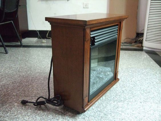 2 sided electric fireplace insert box shared vision