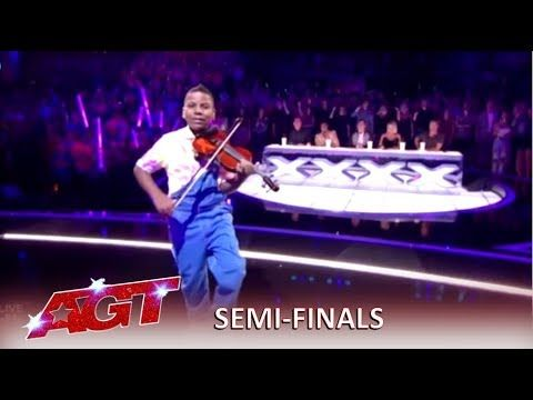 Tyler Butler Figueroa Simon S Golden Buzzer Kills His Violin America S Got Talent 2019 You Americans Got Talent America S Got Talent America S Got Talent