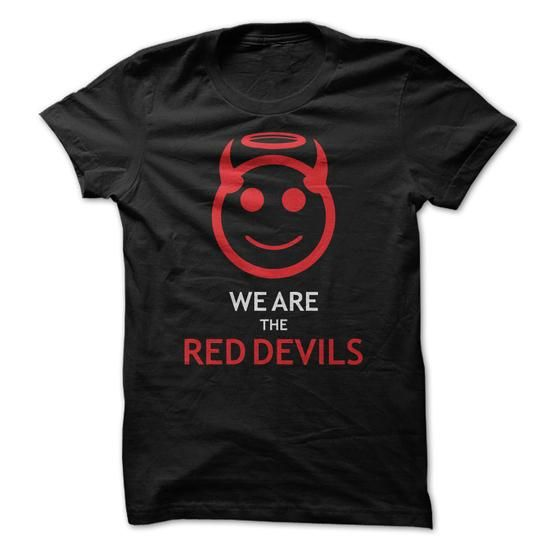 We are the red devils - #cool gift #student gift. ADD TO CART => https://www.sunfrog.com/Sports/We-are-the-red-devils-28388605-Guys.html?68278