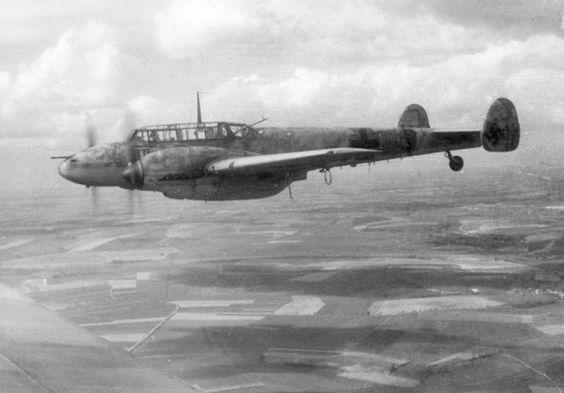 BF-110 in flight