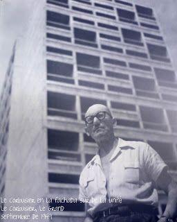 Le Corbusier en la Unite d´Habitation / Unidad Habitacional   Marsella, Francia…