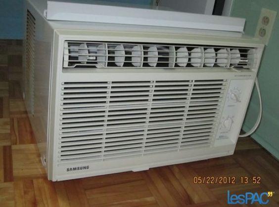 Climatiseur de fenêtre à $90