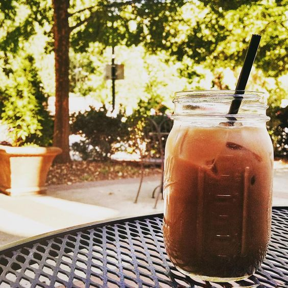 Coconut Mocha Latte from Coffee To A Tea // yeahTHATgreenville