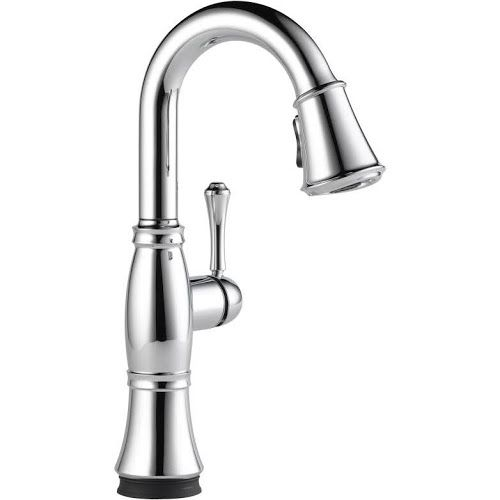 Kitchen Delta Cassidy Brushed Nickel Faucet In 2020 With Images
