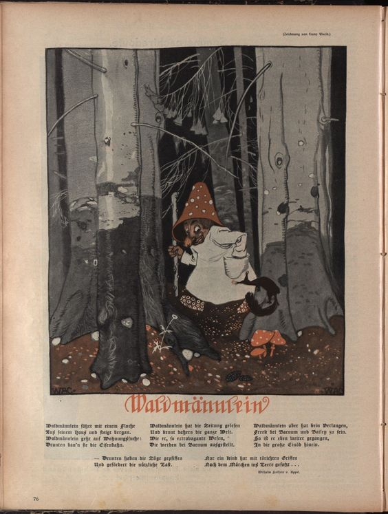 Franz Wacik. ; Die muskete, 1910