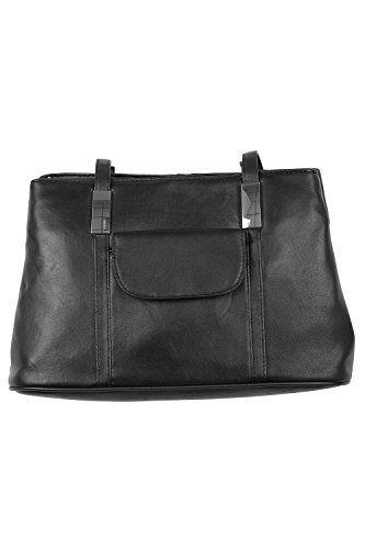 Bonmarche Womens Metal Trims Leather Shoulder Bag Black Size Bonmarche http://www.amazon.co.uk/dp/B010J75THM/ref=cm_sw_r_pi_dp_thSBwb1J42PYX