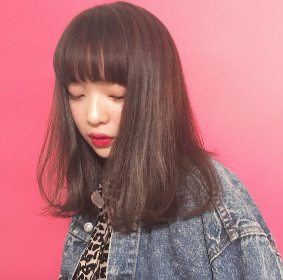 髪の毛サラサラの田中芽衣