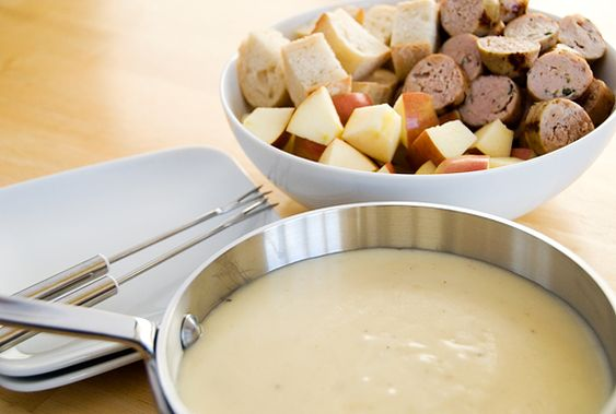Very seriously, the best food ever is cheese fondue.
