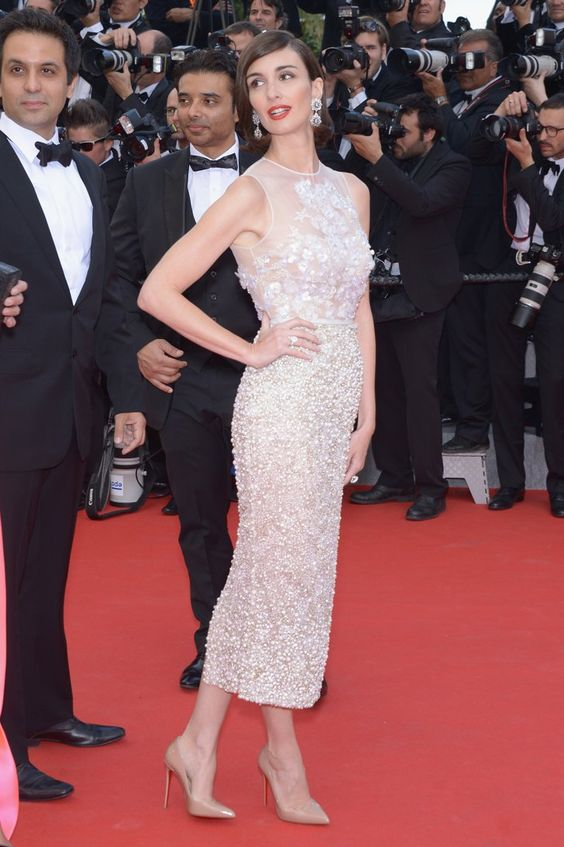 Pin for Later: Julianne Moore regiert auf dem Filmfestival in Cannes Paz Vega auf der Grace of Monaco-Premiere Paz Vega in Elie Saab und Chopard-Schmuck bei der Eröffnungspremiere von Grace of Monaco.