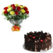 Order Lovely cake and flowers online for delivery in ranchi. Winni offers cake delivery in Ranchi