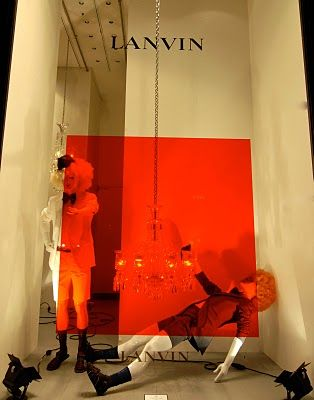 I see translucent vinyls in my future projects  Lanvin