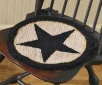 Black Star Hooked Chair Pad Park Designs http://www.amazon.com/dp/B00ENJXD0I/ref=cm_sw_r_pi_dp_lk5Iub17NZZW0