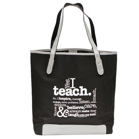 Tote Bags For Teachers | Inexpensive & Cute Teacher Tote Bags ...