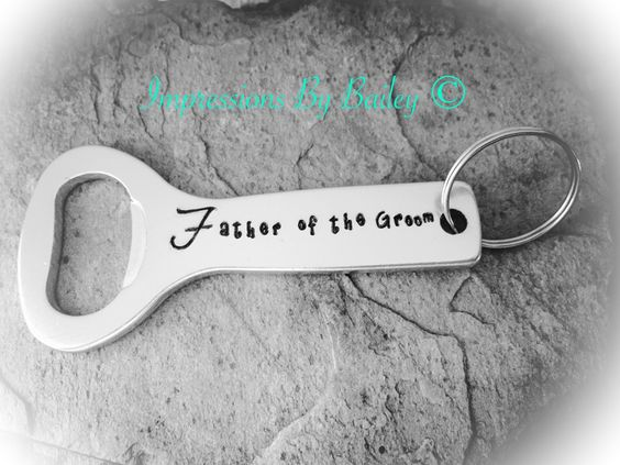 Custom Bottle Opener Wedding/Thank You/ Favor Customizable - pinned by pin4etsy.com