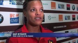 Rugby / Engouement autour du mondial féminin - RMC Sports - 07/08/2014