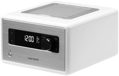 Radio-réveil sonoroRadio / Bluetooth® Blanc - Sonoro - Décoration et mobilier design avec Made in Design