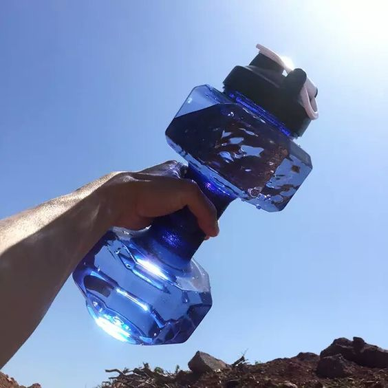 Dumbbell/Sports Water Bottle