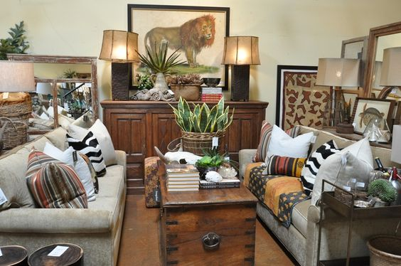Safari Dining Room Living Room Remodel Pinterest Safari Sofas And Gold
