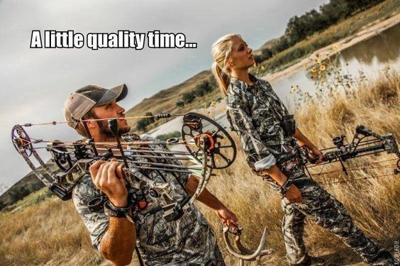 Who needs a date night when you've got an early morning hunt?