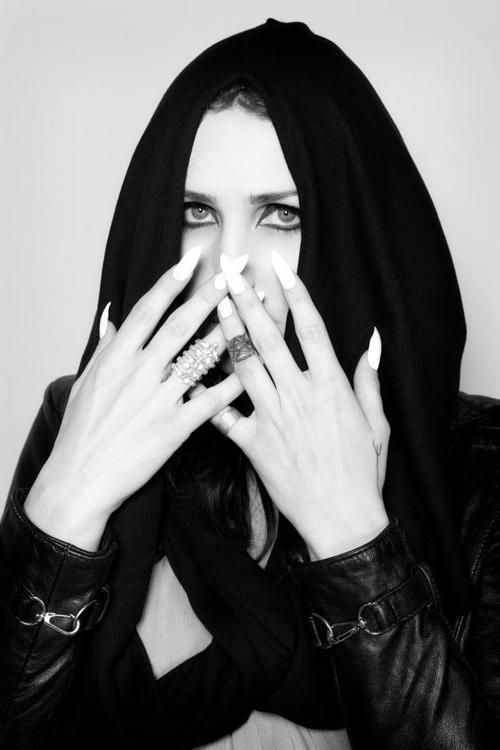 coniferousfashion:    Chelsea Wolfe in Ovate.  Photo by Kristin Cofer.