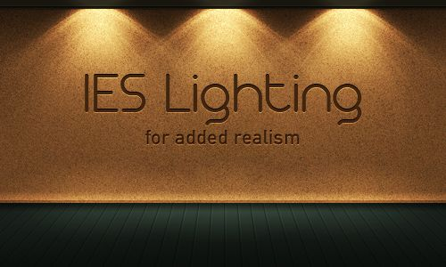 PS realistic IES Lighting