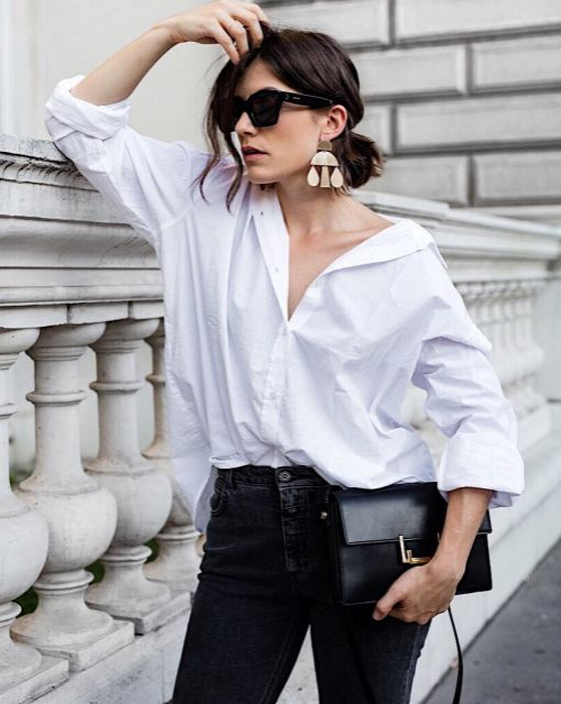 Carola from Vienna Wedekind wearing a Closed Denim