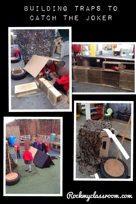 Building baddie traps