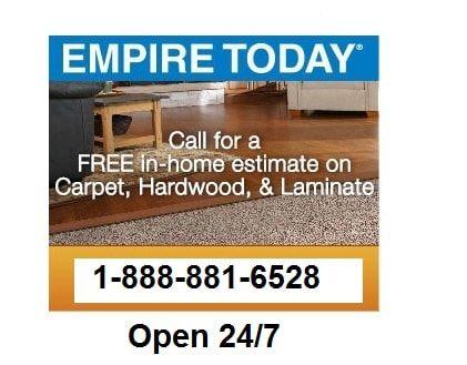 888 881 6528 Empire Today Carpet S