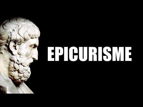 L Epicurisme Atteindre Le Bonheur Youtube Philosophie Raconter Epicure