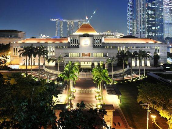 Tòa nhà quốc hội đẹp tuyệt về đêm
