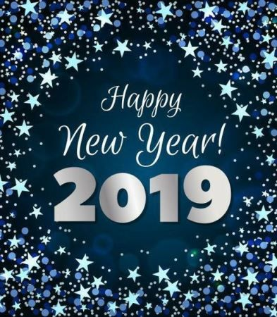new year greetings quotes funny 2019 for family and friends.